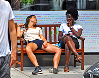 Relaxed on University Place 2016 14x11